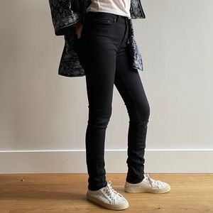 NAKED & FAMOUS THE HIGH SKINNY BLACK